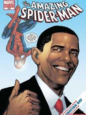 Barack Obama / Spider-Man