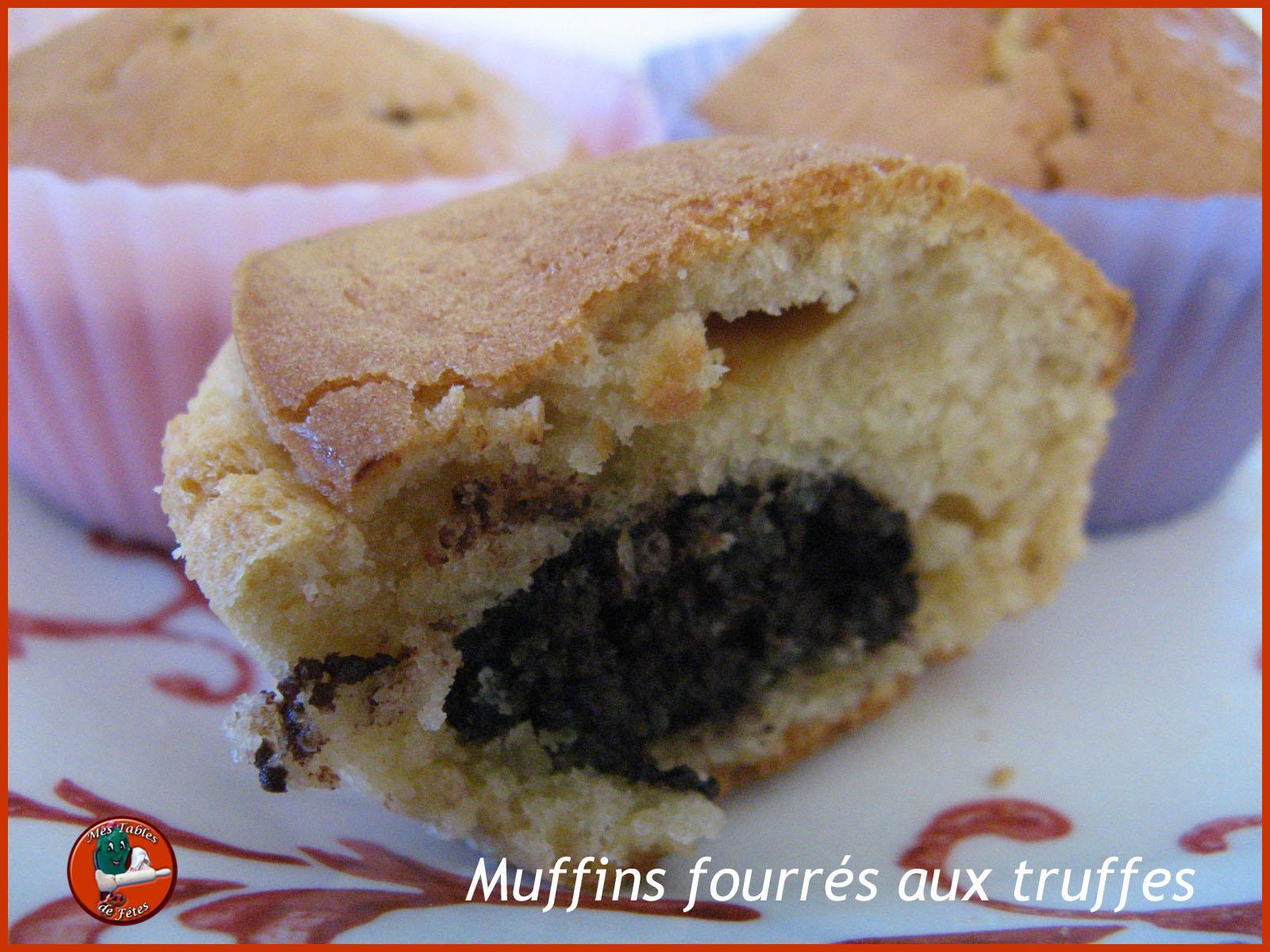 Muffins fourrés, indécent recyclage de Noël