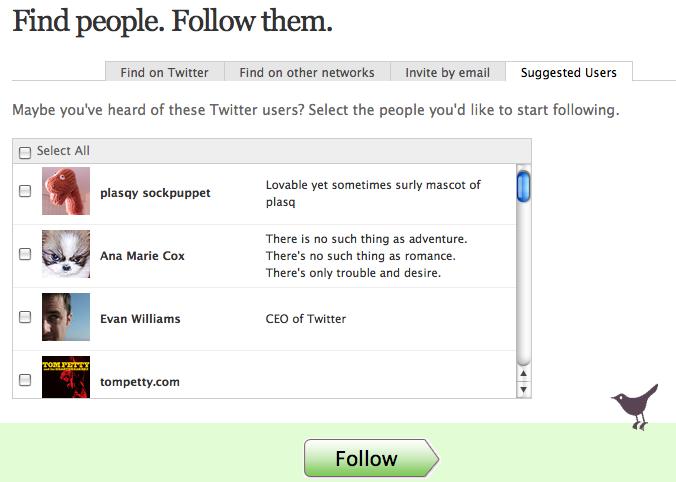 twitter-suggested-users twitter vous suggère des personnes qui ne vous intéresse pas