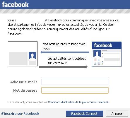 Pourquoi Facebook Connect est-il dangereux pour vos données personnelles ?