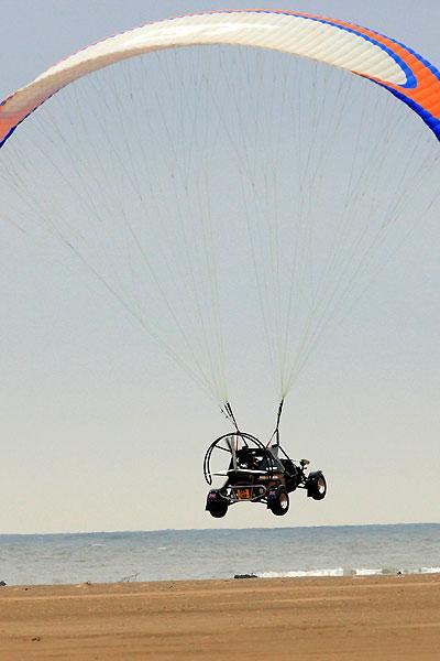 Un véhicule volant au biocarburant