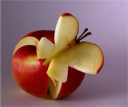Crazy fruits pomme