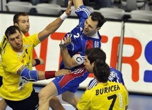Jérôme Fernandez a été l'un des meilleurs Français contre la Roumanie.