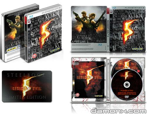 Resident Evil 5 - Steelbook Limited Edition
