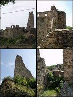 Ailleurs: Les ruines du château de Okoř