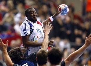 A l'image de tous les Français, Luc Abalo n'a pas rencontré de difficulté contre l'Argentine.