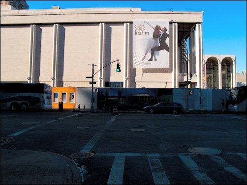 NYC streets et Obama J-1