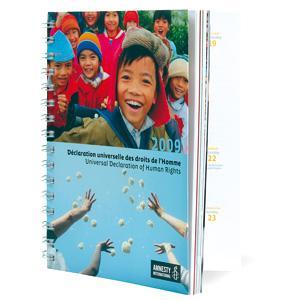 Agenda civil 2009 - Déclaration universelle des droits de l'Homme
