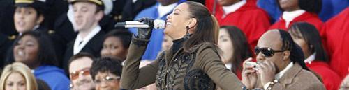 Beyonce, Shakira, Stevie Wonder & Usher au Lincoln Memorial pour Obama (video)