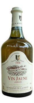 Vin jaune arbois 1998 domaine de la pinte