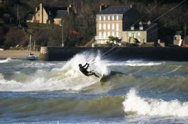 De la houle en Bretagne