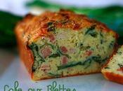 Cake Blettes lardons