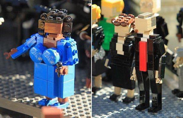 L'investiture de Barack Obama en LEGO