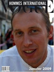 Faîtes la couverture d'un magazine français