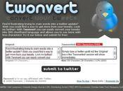 Twonvert twitt langage