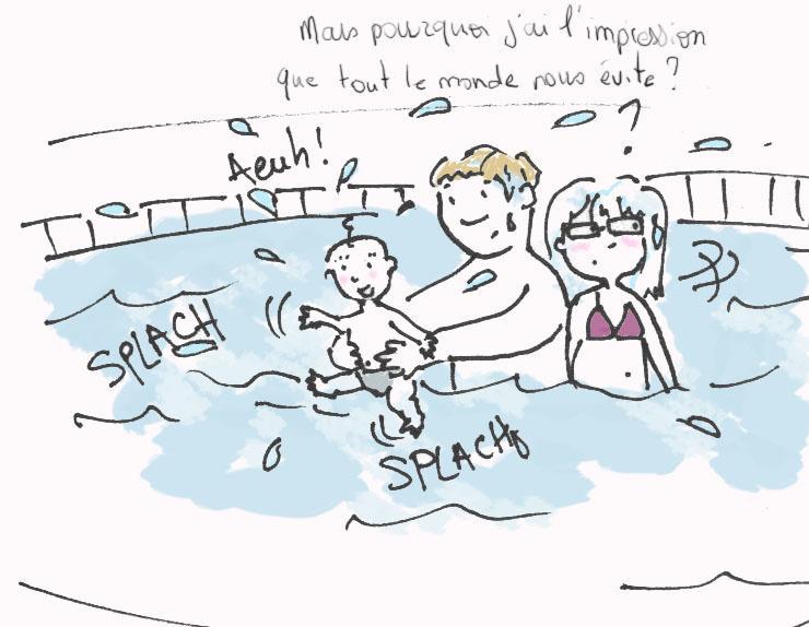 B b nageur ou comment ne pas se faire d amis paperblog for Caca dans une piscine