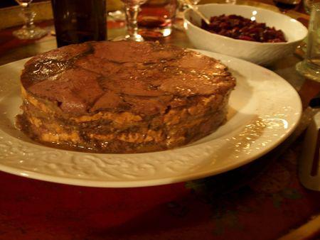 Terrine de chevreuil au foie gras et aux poires chutney for Chutney de pommes pour foie gras