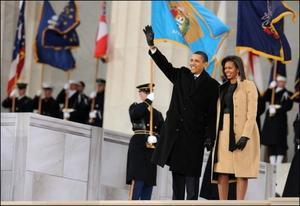 L'investiture d'Obama, un événement vu à la télé