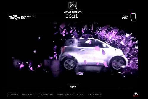 Virtual Test Drive pour la Toyota IQ