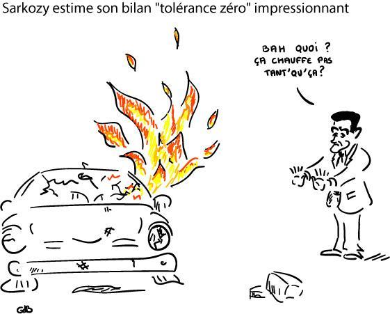 Sarkozy estime bilan