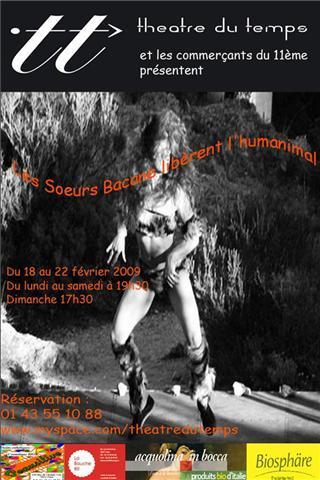 Les Sœurs Bacane à Paris