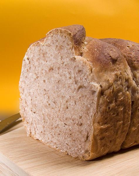 Pain de mie à la farine de châtaignes