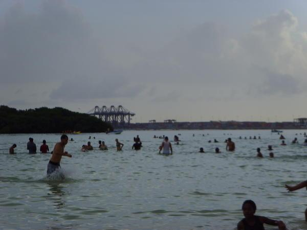 Une journée à la plage: Boca Chica