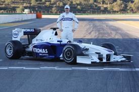 F1 - BMW Sauber présente la F1.09 à Valence (photo)