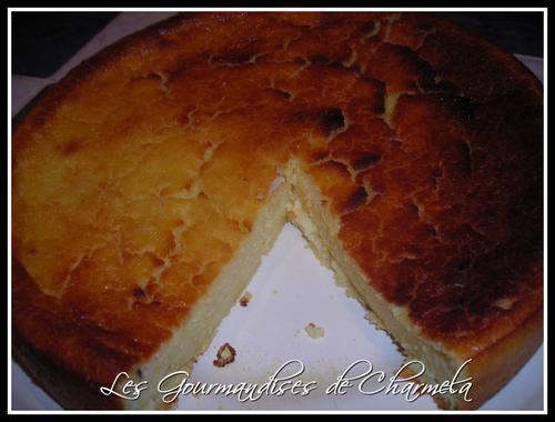 Gateau de Polenta au Citron Vanillé