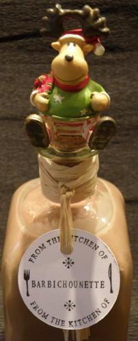 Idée de cadeau: Liqueur de chocolat au Thermomix