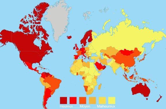 cartes des pays selon les indices de d veloppement et de bonheur irlande norv ge pays bas. Black Bedroom Furniture Sets. Home Design Ideas