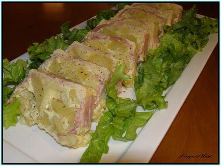 Terrine au beaufort paperblog - Cuisine tv eric leautey ...
