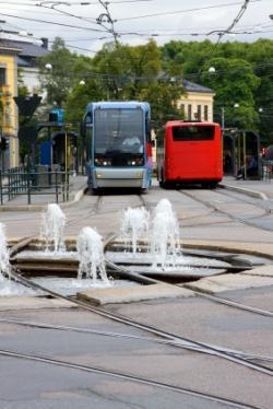 Oslo, norvège - la capitale norvégienne envisage de convertir quatre