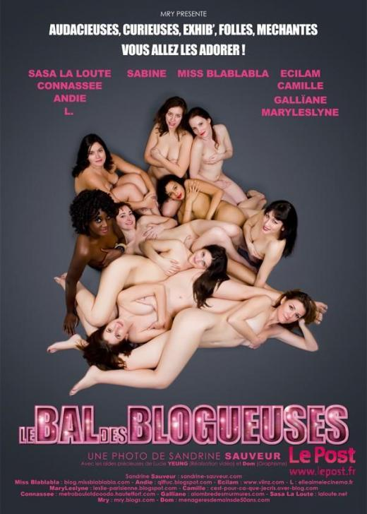 Le Bal des blogueuses : 10 blogueuses posent nues