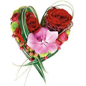 Des coeurs et des fleurs pour la saint valentin lire - Fleur de saint valentin ...