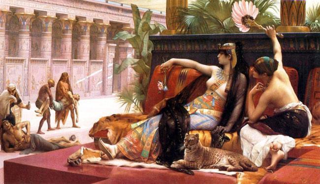 Peinture romantique avec alexandre cabanel paperblog for Artiste peintre anglais