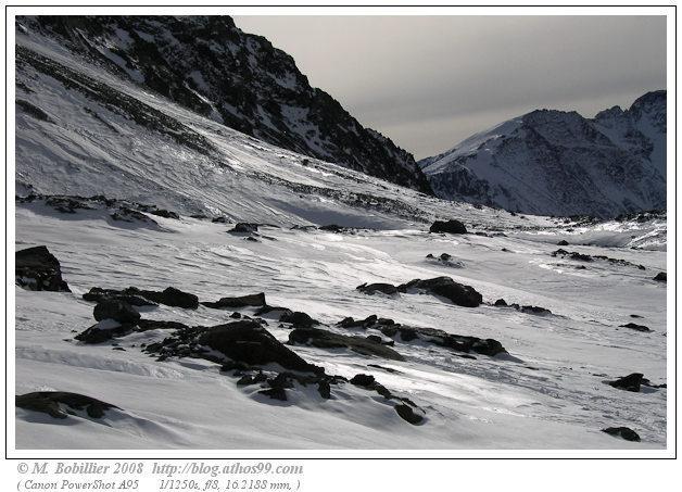 Haute montagne, les Arcs 2000