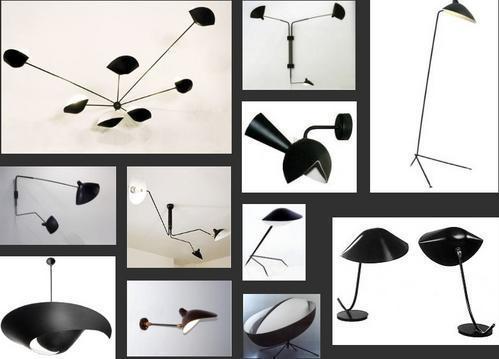 Luminaires de serge mouille paperblog - Luminaire serge mouille ...