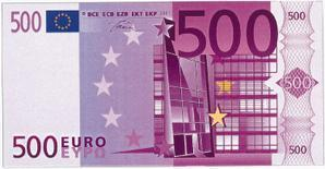 500 euros et 500 secondes par Ellie