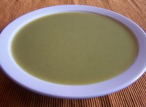 Soupe de poireaux à l'oseille