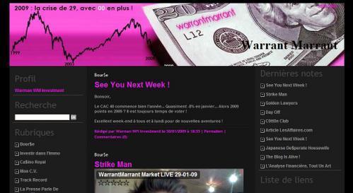 Buzz sur l'économie avec Warrant Marrant !!!!