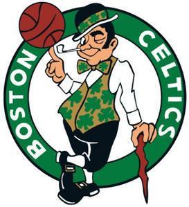 Un supporter déchainé assiste à un match NBA des Boston Celtics