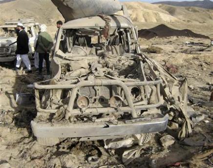 BOMBARDEMENT AMÉRICAIN DANS L'OUEST DE L'AFGHANISTAN ...