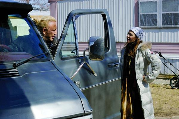 Mickey Rourke et Marisa Tomei. Wild Bunch