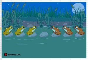 Jouons ensemble : le test des grenouilles