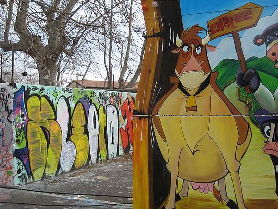 Rencontres picturales à Luna Park / Pictorial encounters at an amusement park