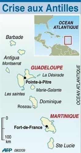 Grèves aux Antilles, processus de décolonisation?