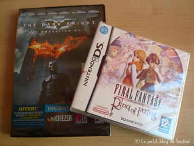 Batman et Final Fantasy