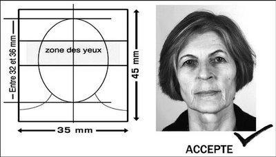 Passeports biométriques et photos d'identité