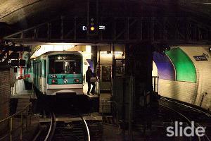 Arrivée en station